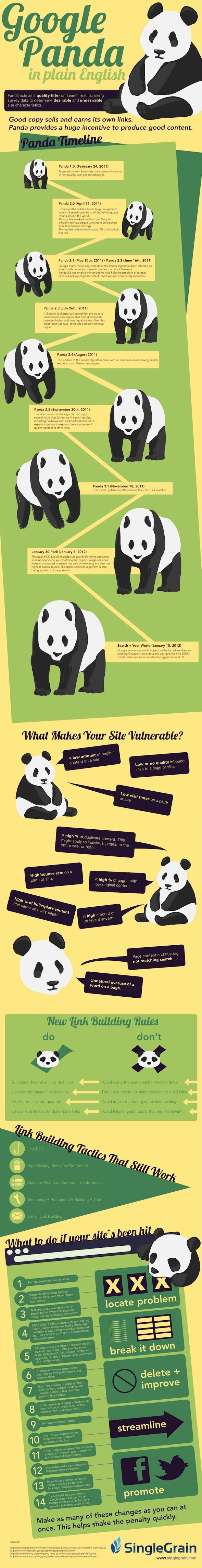 Google Panda Update [Infographic]