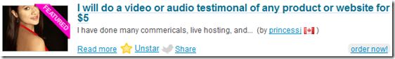 I will do a video or audio testimonal of any product or website for $5