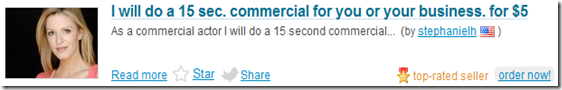 I will do a 15 sec. commercial for you or your business for $5
