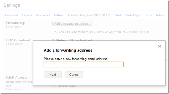 Forward Your Emails To Any Other Email Account