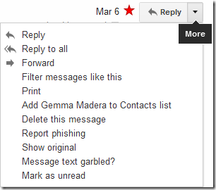 View Email Header In Gmail