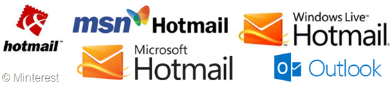Hotmail Logos: New & Old