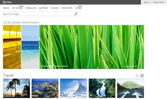Microsoft Office Imagery