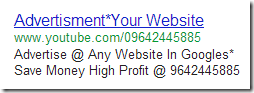 "Sponsored ad related to ""AdWords Coupon"""