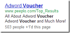 "Sponsored ad related to ""AdWords Voucher"""