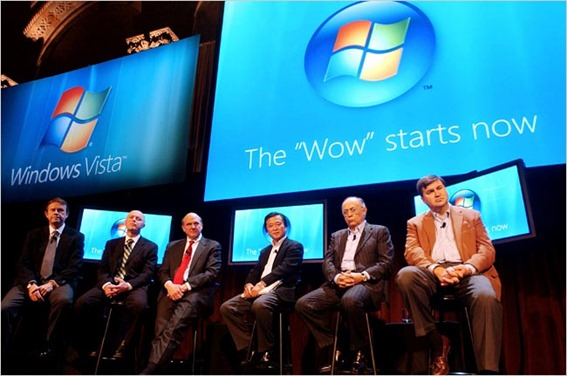 Windows Vista Launch