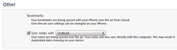 iOS: Syncing with iTunes