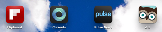 Flipboard vs. Pulse vs. Google Currents vs. Zite