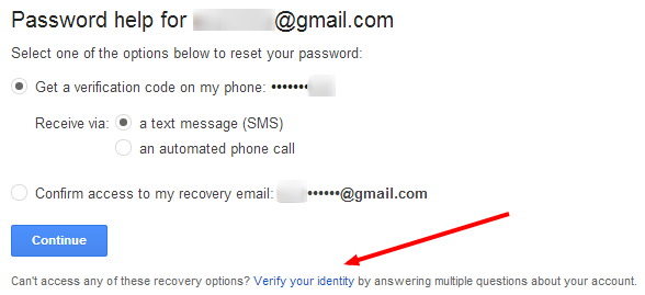 Verify Your Google Identity
