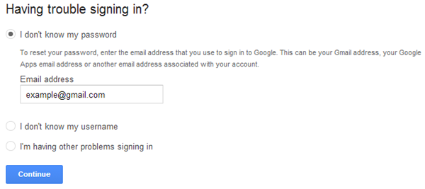 Google Login Trouble