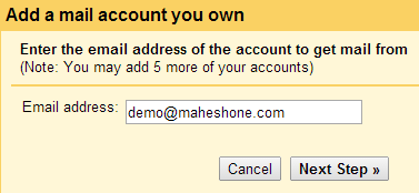 Gmail: Add A Mail Account You Own
