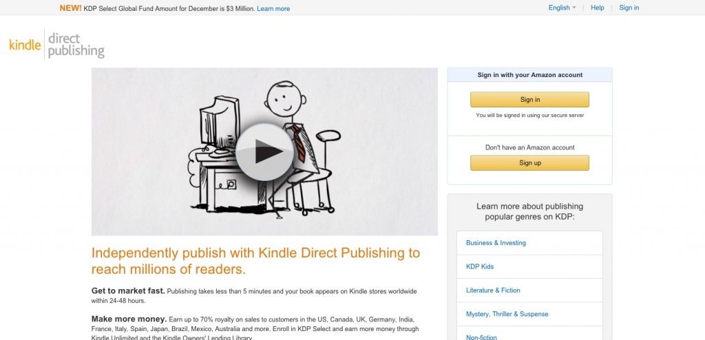Amazon Kindle Direct Publishing