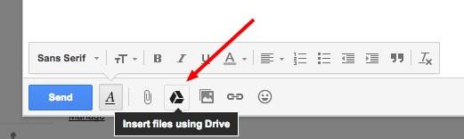 Insert Google Drive Files As Gmail Attachments