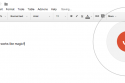 """""""Voice typing…"""" on Google Docs"""