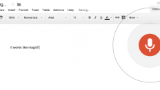 """Voice typing…"" on Google Docs"