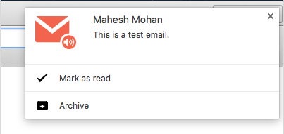 Checker Plus for Gmail – Notification