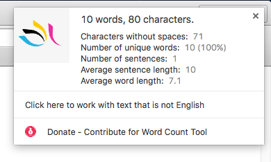 Word & Character Count Tool