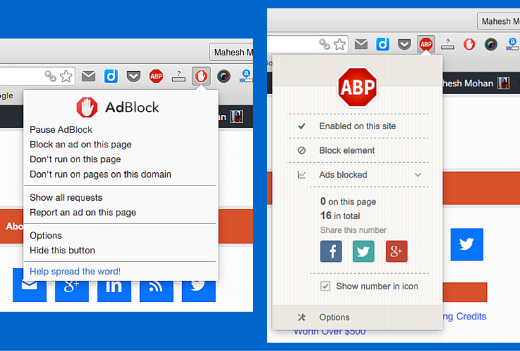 Adblock & Adblock Plus: Extension Options