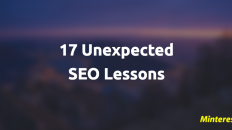 17 Unexpected SEO Lessons
