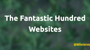 The Fantastic Hundred Websites