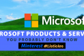 Microsoft Products & Services