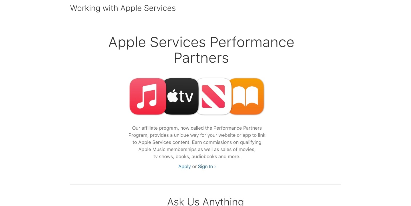 Apple Services Performance Partners