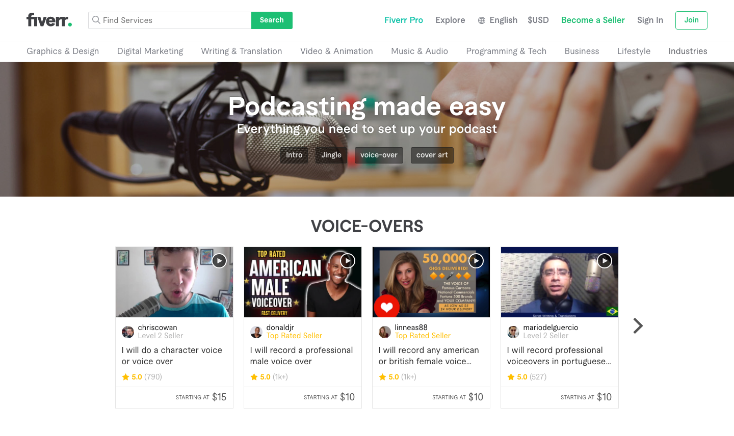 Fiverr Podcast