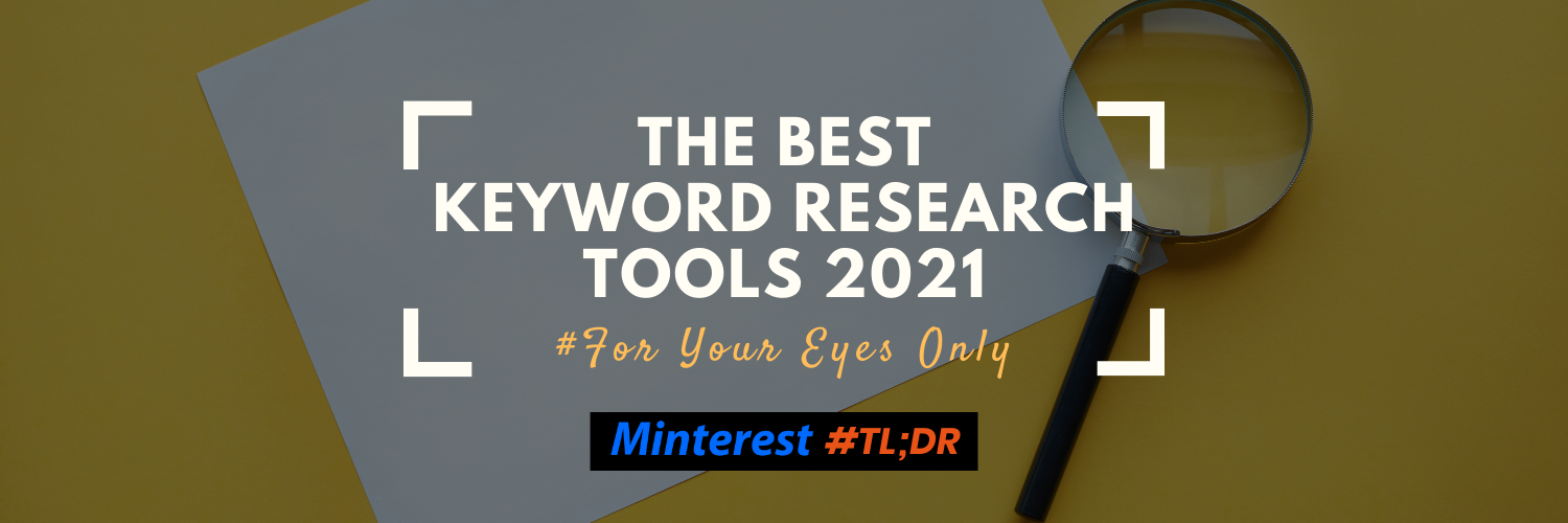 Keyword Research Tools 2021
