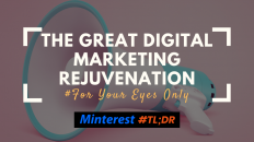 The Great Digital Marketing Rejuvenation